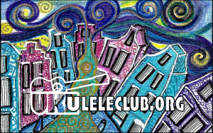 Ukelele Club Card
